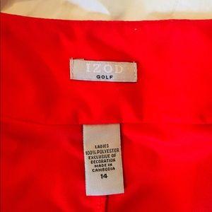 Izod Shorts - Red IZOD Golf Skort Size 14